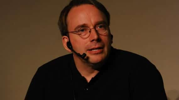 Linus Torvalds, LinuxCon 2011