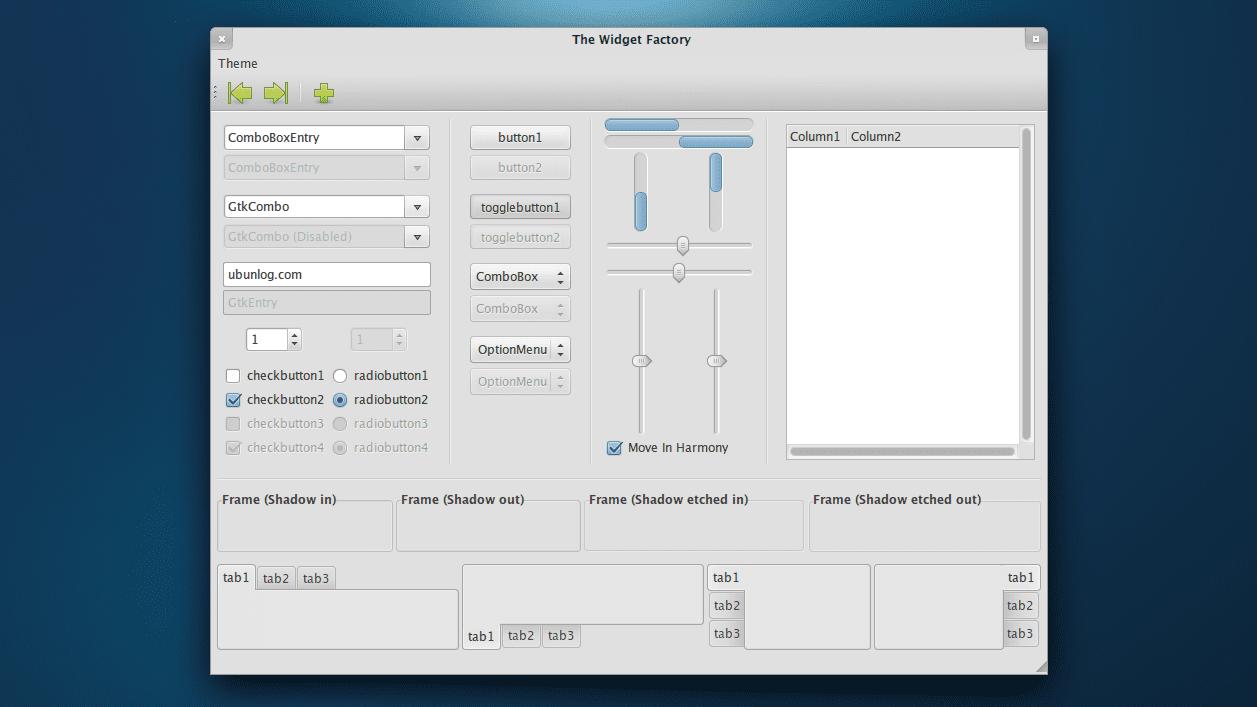 Lubuntu 13.10, nuevo tema GTK+