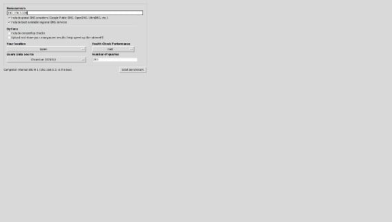 Acelera tu conexión a Internet con Namebench en Ubuntu
