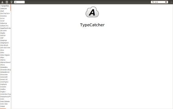 TypeCatcher o como personalizar las fuentes de Ubuntu