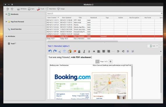 Nixnote 2, una solución para los usuarios de Evernote