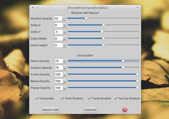 Xfce4 Composite Editor, una herramienta necesaria para nuestro Xubuntu