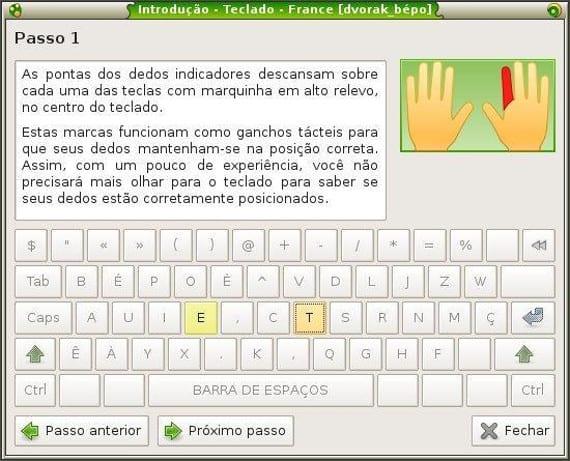 Aplicaciones para aprender mecanografía en Ubuntu