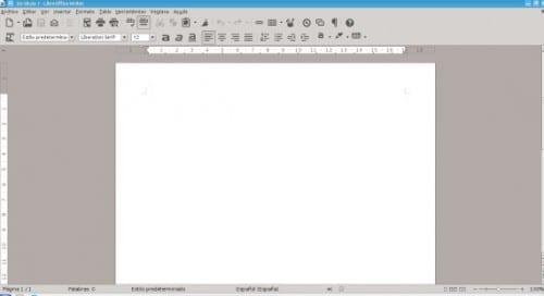 Cambiar los iconos de LibreOffice
