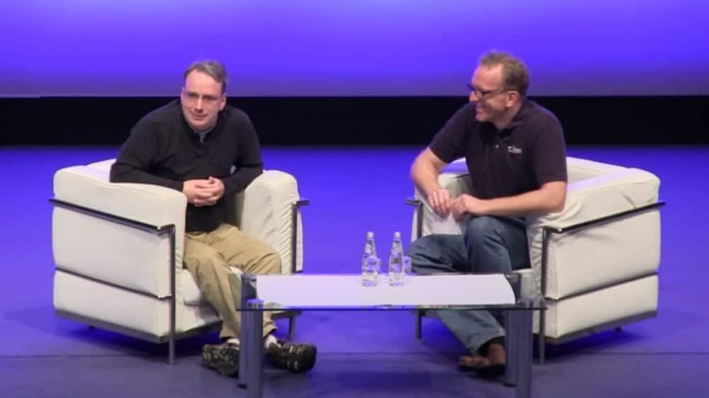 Linus Torvalds, LinuxCon Europe 2013