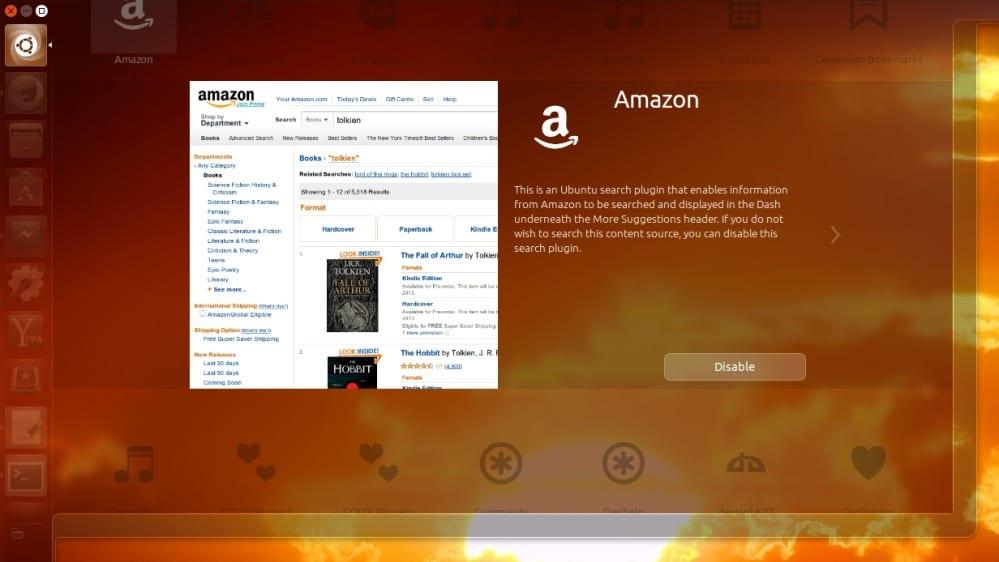 Ubuntu 13.10, Amazon