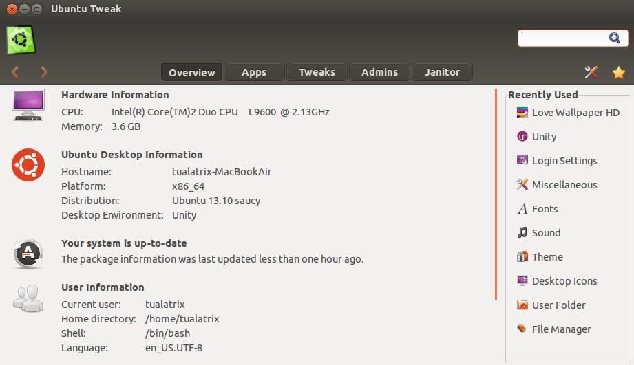 Ubuntu Tweak 0.8.6