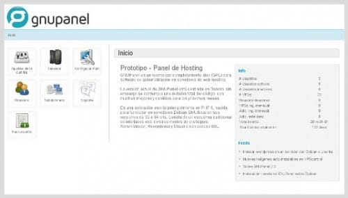 GNUPanel, una buena herramienta para nuestro servidor Ubuntu