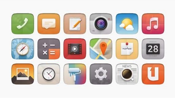 Varios paquetes de iconos para tu sistema