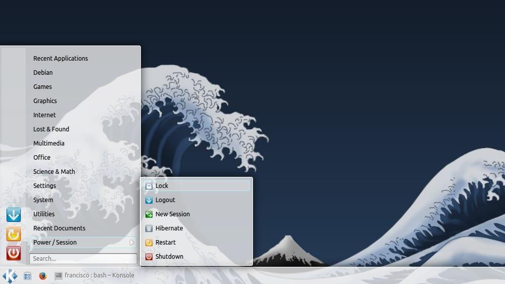 Kicker en Kubuntu 13.10
