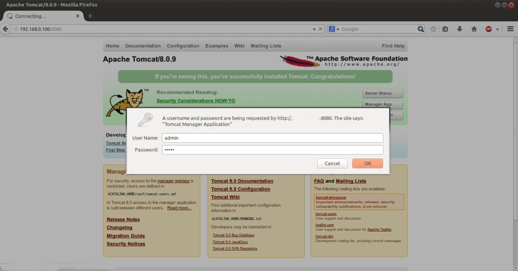 tomcat-ubuntu