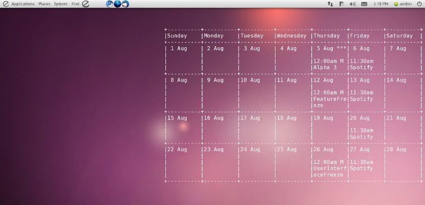 Muestra tu Google Calendar en el escritorio con Conky