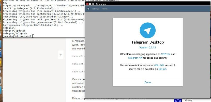 Cliente de Telegram