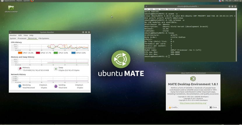 Ya disponible Ubuntu MATE 15.04 para Raspberry Pi 2 y ARMv7