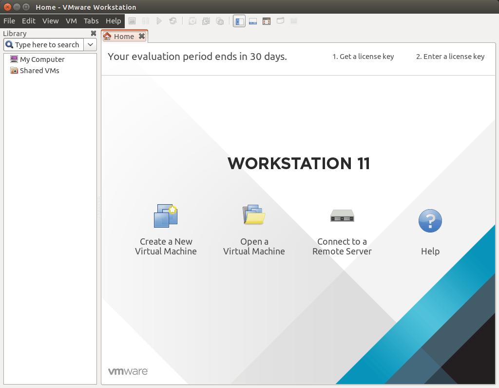 vmware workstation ubuntu