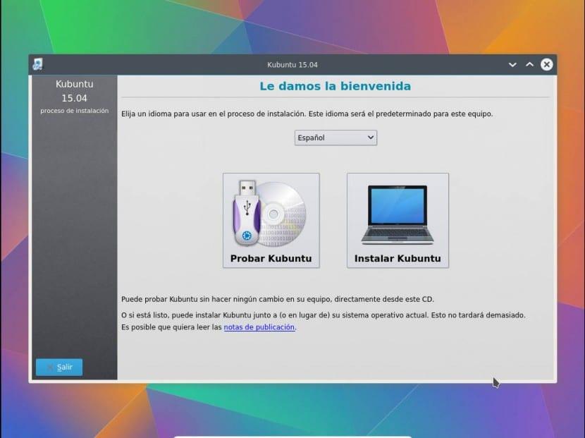 Instalar Kubuntu 1