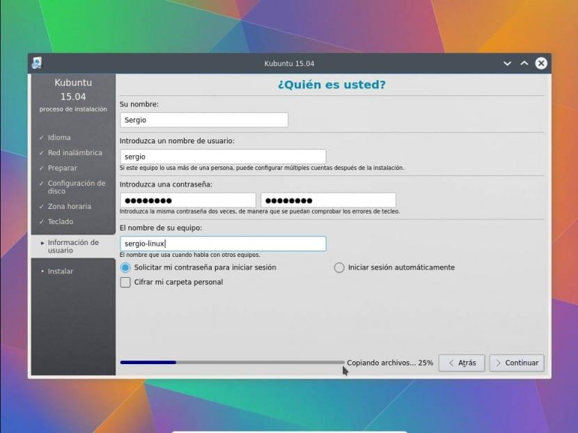 Instalar Kubuntu 6