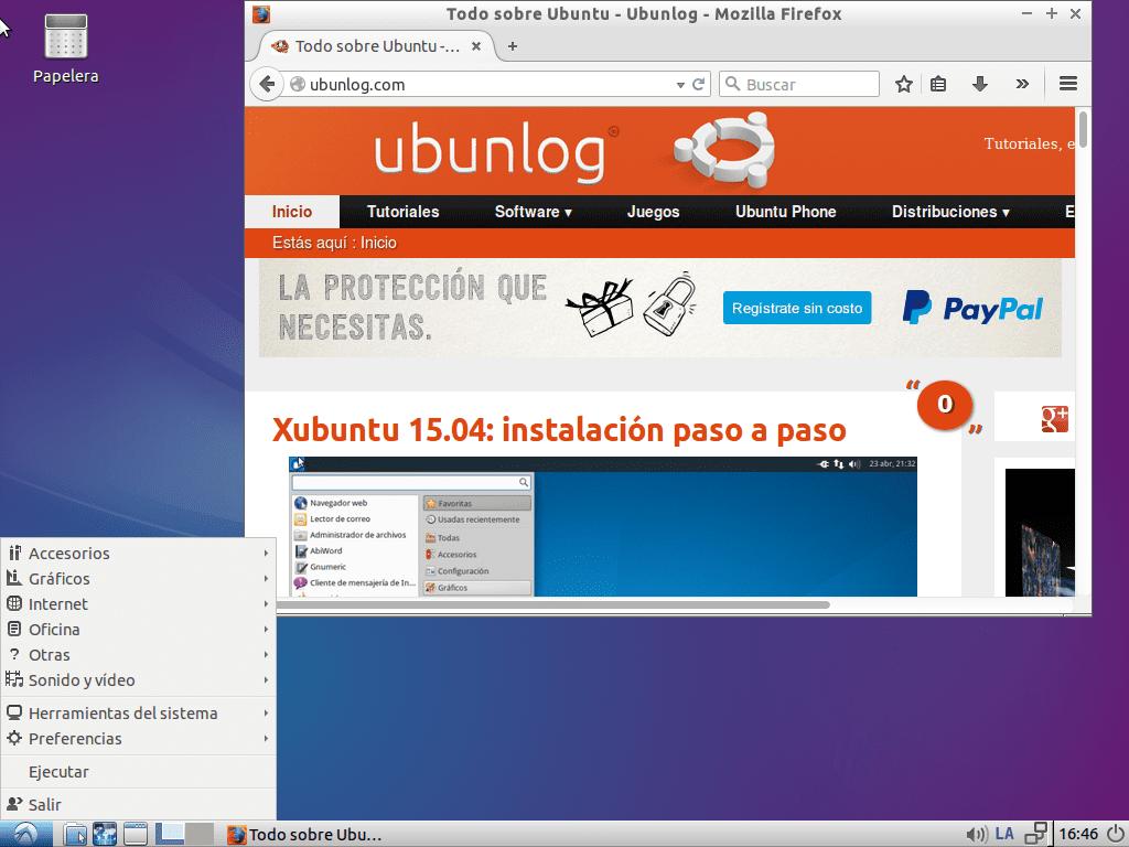 Lubuntu 15.04 Vivid Verbet