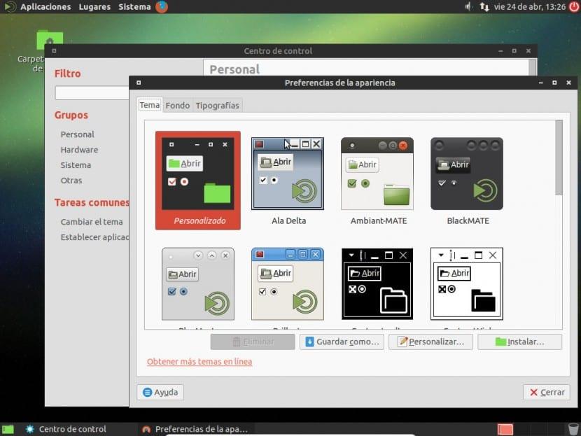 Personalizar Ubuntu MATE