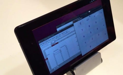 Tablet con Ubuntu Touch