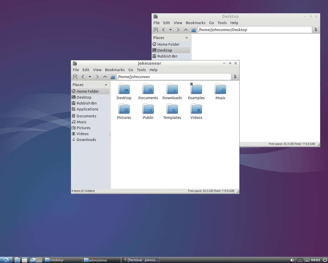 Cambiar fondo escritorio linux