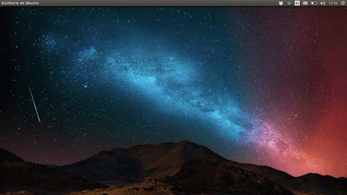 El escritorio de Ubuntu no carga.