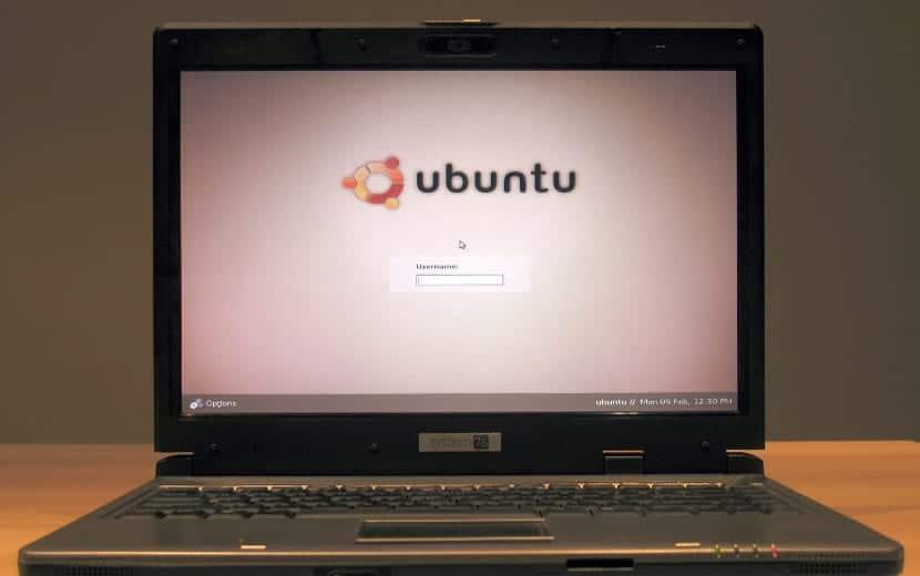 Ordenador con Ubuntu
