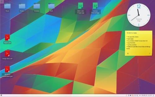 Imagen de KDE Plasma 5.4