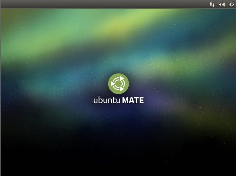 Pantalla de inicio de instalación de ubuntu mate
