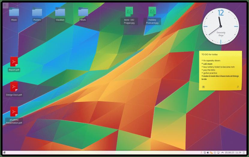 Plasma Desktop