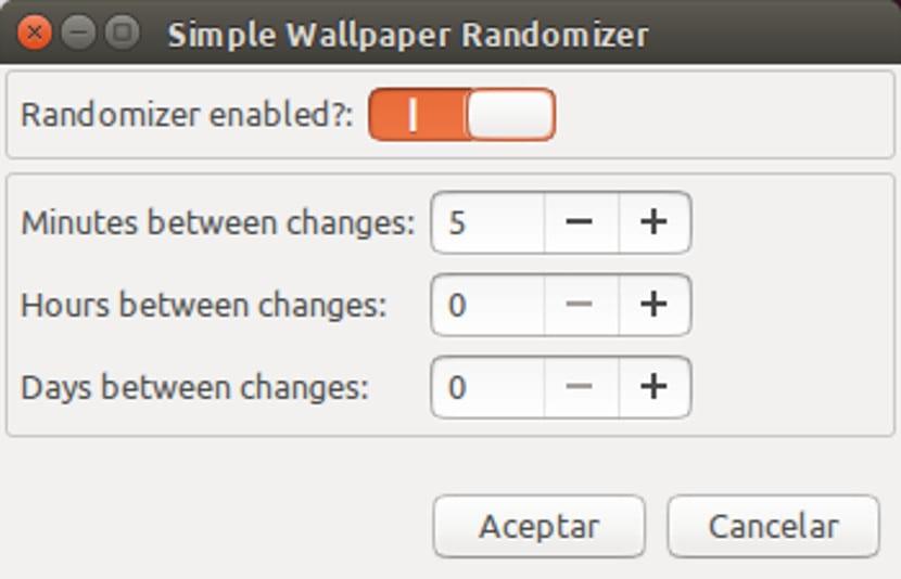 Simple Wallpaper Randomizer