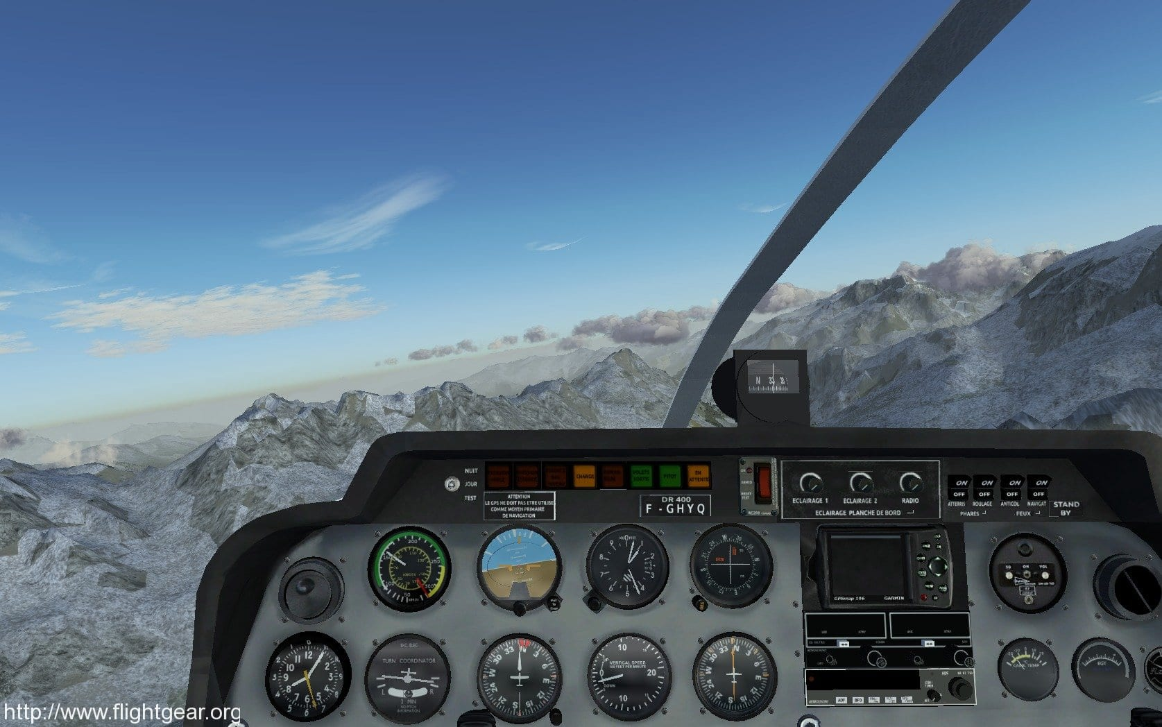 flight gear flight simulator 1