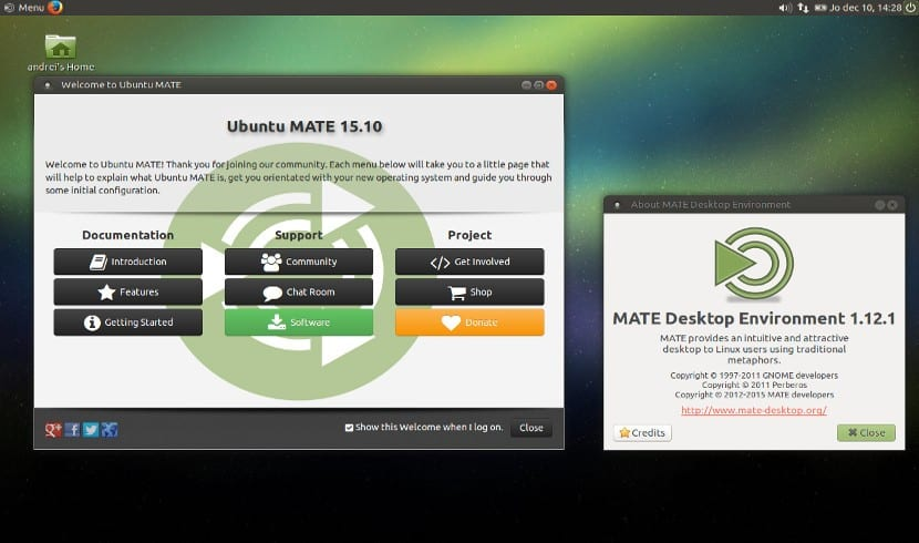 Ubuntu MATE 1.12.1