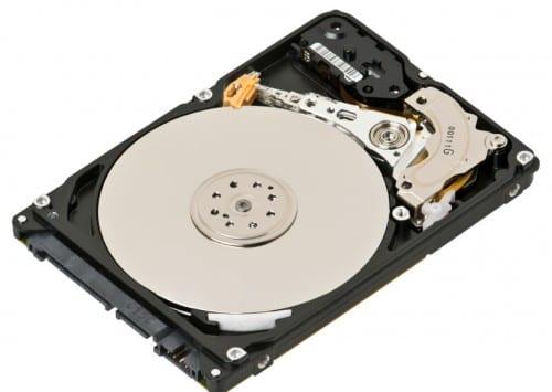 Imagen de un disco duro tradicional.