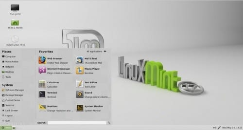 Linux Mint Gloria