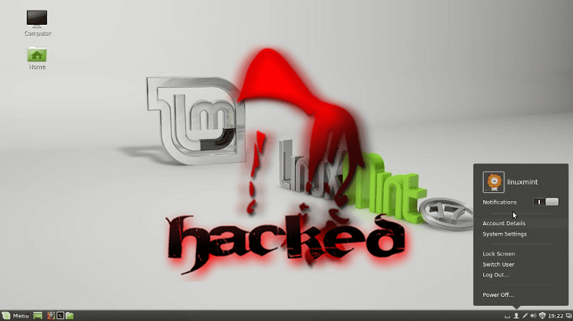 Linux-Mint-17-hacked
