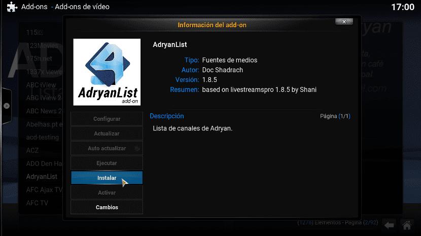 instalar-Adryanlist