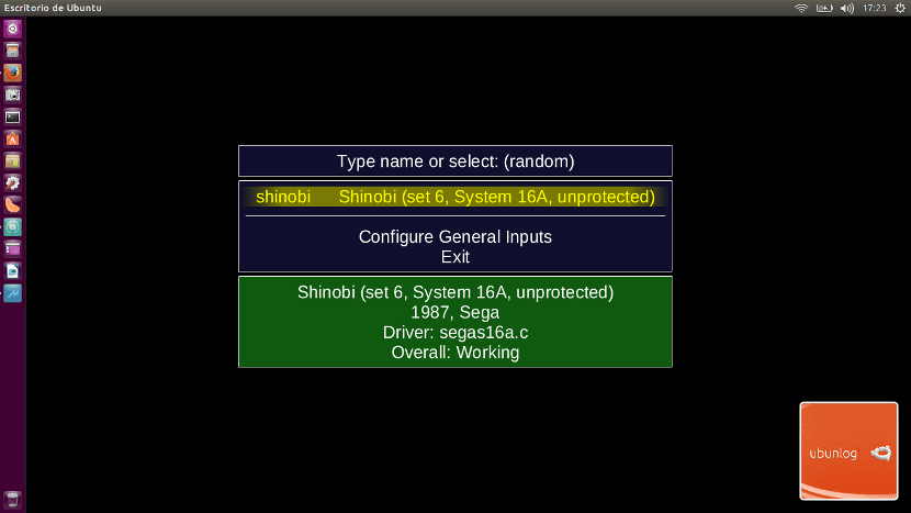 Emulador MAME en Ubuntu
