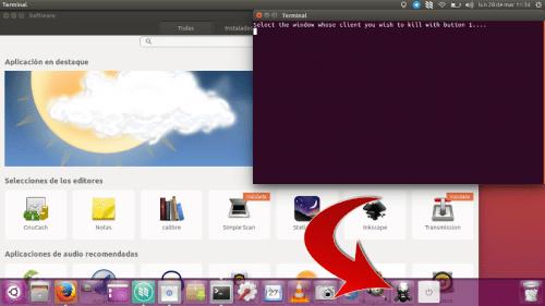 Lanzador para matar aplicación en Ubuntu 16.04