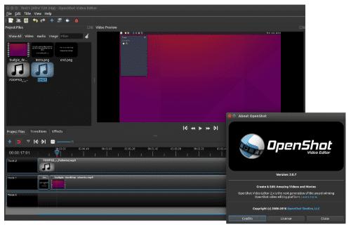 Openshot 2.0.7 Beta 4