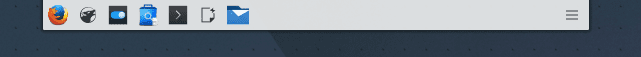 Panel superior Kubuntu