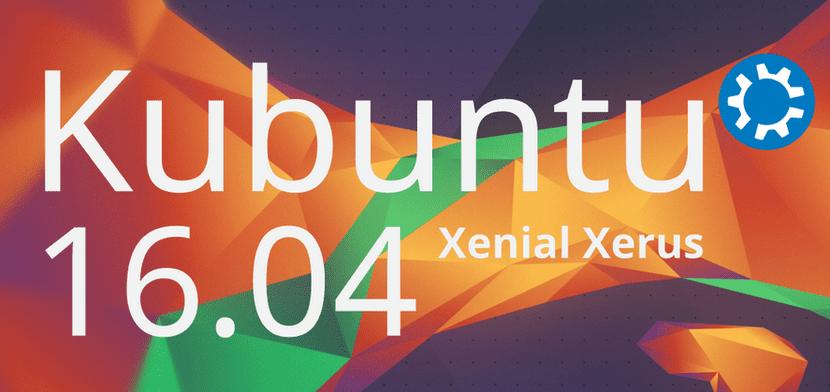 Kubuntu 16.04 Xenial Xerus