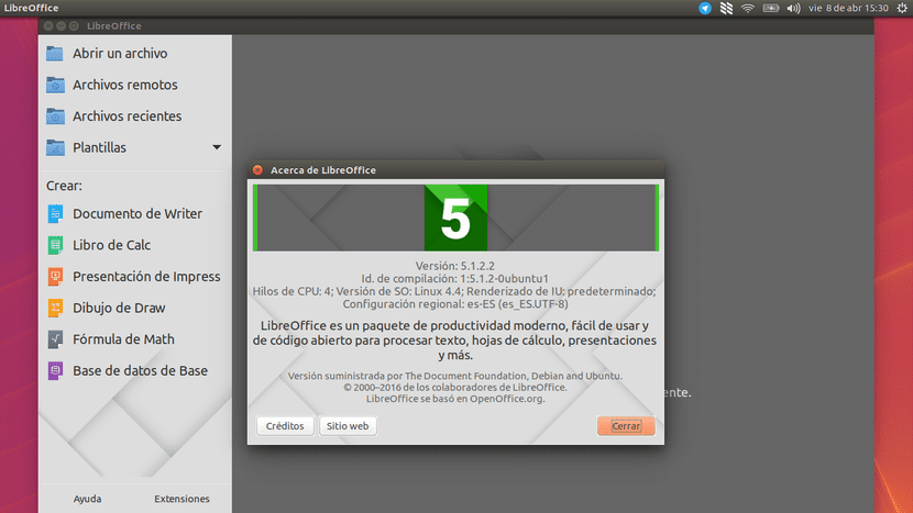 LibreOffice 5.1.2.2