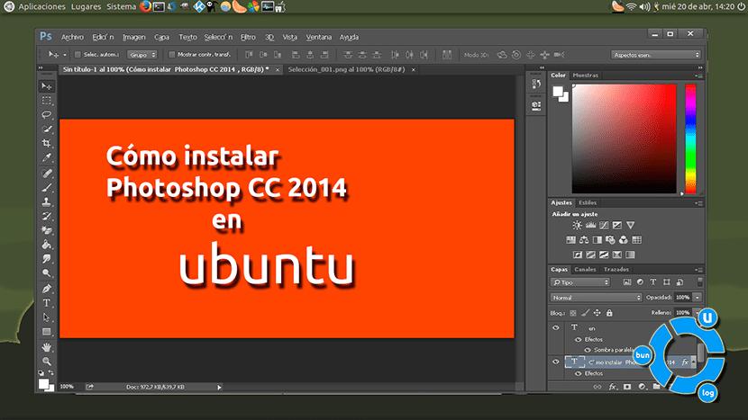 Photoshop CC en ubuntu
