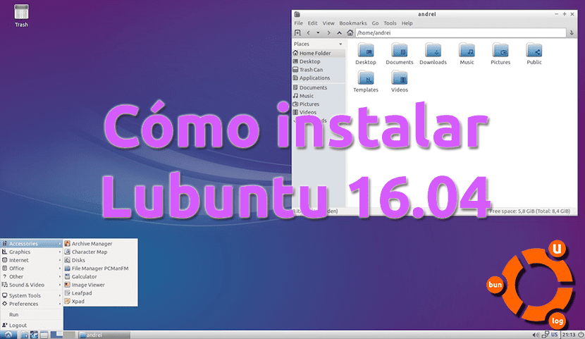 Cómo instalar Lubuntu 16.04