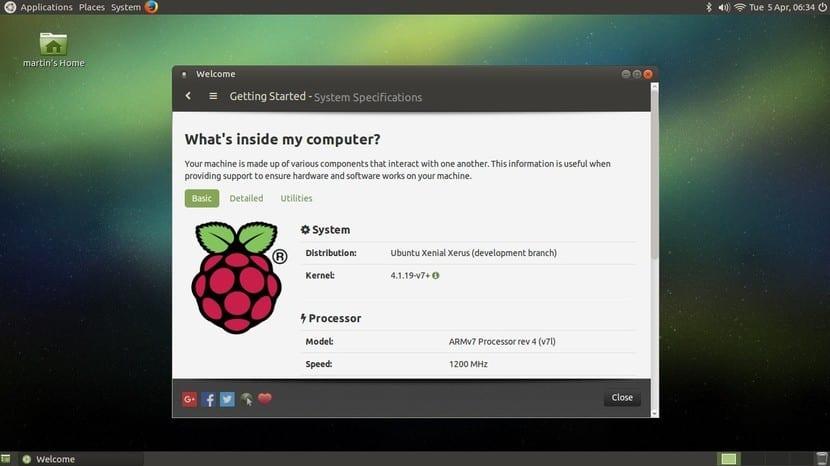Ubuntu MATE 16.04 para Raspberry Pi 3