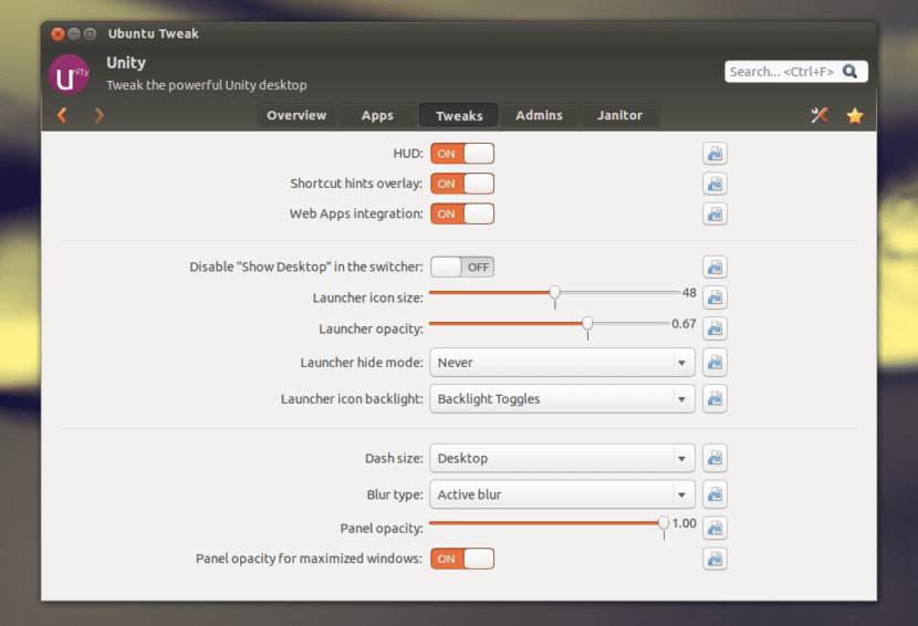 Ubuntu Tweak