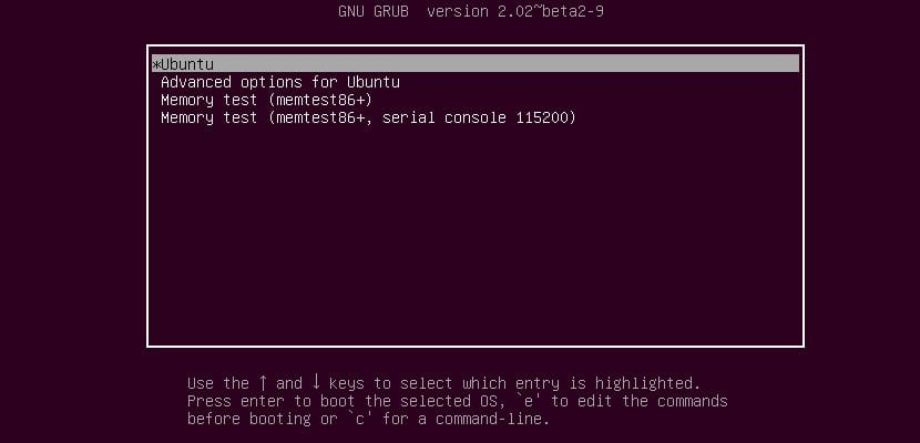 Grub2 Ubuntu