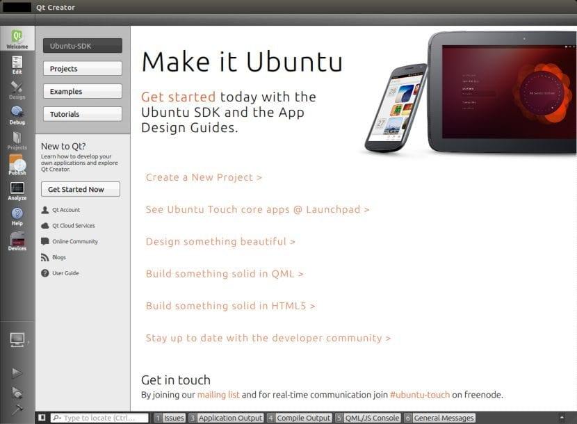 Ubuntu SDK IDE