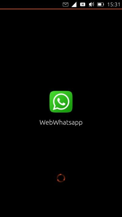 WhatsApp en Ubuntu Phone